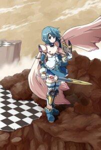 Rating: Safe Score: 14 Tags: armor crossover kamen_rider kamen_rider_dragon_knight miki_sayaka puella_magi_madoka_magica sword thighhighs thor_(pixiv240171) User: Kaixa