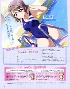 Rating: Safe Score: 47 Tags: inou_shin love_live!_sunshine!! swimsuits watanabe_you wet User: drop