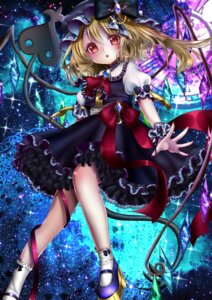 Rating: Safe Score: 46 Tags: dress flandre_scarlet heels shanghai_bisu touhou wings User: charunetra
