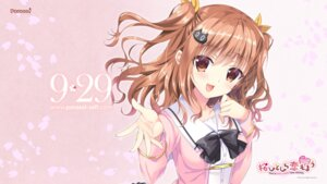 Rating: Safe Score: 50 Tags: parasol sakura_hanpen sakura_hitohira_koi_moyou seifuku takazawa_miaya wallpaper User: 糖果部部长