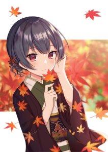 Rating: Safe Score: 18 Tags: kimono mochiko_(uyu_omochi) morino_rinze the_idolm@ster the_idolm@ster_shiny_colors User: BattlequeenYume