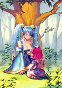 Rating: Safe Score: 38 Tags: annie_hastur ask_(dreaming_cat) cleavage dress league_of_legends no_bra sona_buvelle User: nphuongsun93