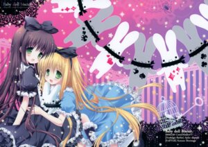 Rating: Safe Score: 37 Tags: dress frill_frill lolita_fashion morinaga_korune nostalgic_barbie okazaki_anko User: syaoran-kun