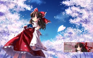 Rating: Safe Score: 14 Tags: hakurei_reimu touhou wallpaper User: blues