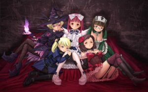 Rating: Questionable Score: 26 Tags: casper cleavage deathsmiles dress follet inoue_junya megane nurse pantsu roza sakyura stockings thighhighs windia witch User: admin2