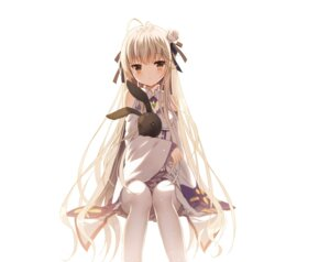Rating: Safe Score: 84 Tags: cosplay emilia_(re_zero) jiji_(381134808) kasugano_sora pantyhose re_zero_kara_hajimeru_isekai_seikatsu yosuga_no_sora User: RyuZU