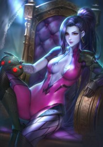 Rating: Questionable Score: 34 Tags: bodysuit no_bra nudtawut_thongmai overwatch tattoo widowmaker User: BattlequeenYume