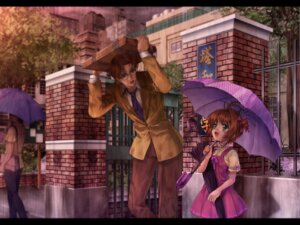 Rating: Safe Score: 10 Tags: card_captor_sakura kinomoto_fujitaka kinomoto_sakura moonknives User: blooregardo