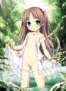 Rating: Questionable Score: 90 Tags: censored cura digital_version dress loli lose monobeno nipples no_bra open_shirt pantsu panty_pull sawai_natsuha see_through skirt_lift wet User: Twinsenzw