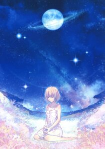 Rating: Safe Score: 38 Tags: aikura_chihiro dress summer_dress takeuchi_takashi tsuki_no_sango type-moon User: fireattack