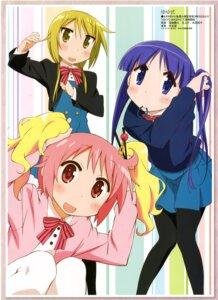Rating: Safe Score: 19 Tags: cosplay hinata_yukari ichii_yui kin'iro_mosaic nonohara_yuzuko pantyhose tabata_hisayuki yuyushiki User: Radioactive