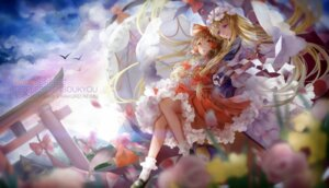 Rating: Safe Score: 33 Tags: dress hakurei_reimu jyuui touhou yakumo_yukari User: Mr_GT