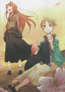 Rating: Safe Score: 7 Tags: animal_ears ayakura_juu holo nora_ardent spice_and_wolf tail User: Radioactive