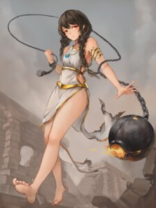 Rating: Safe Score: 31 Tags: crystalherb dress feet weapon User: charunetra