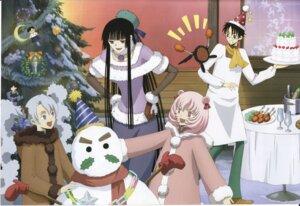 Rating: Safe Score: 6 Tags: christmas cropme ichihara_yuuko marudashi morodashi screening watanuki_kimihiro xxxholic User: charunetra