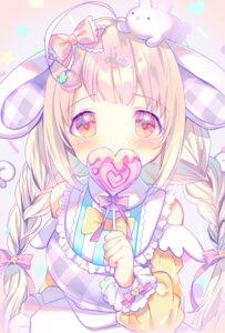Rating: Safe Score: 14 Tags: animal_ears bunny_ears rokomoko User: Mr_GT