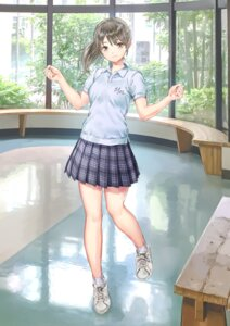 Rating: Safe Score: 47 Tags: blue_reflection gym_uniform kishida_mel seifuku User: NotRadioactiveHonest