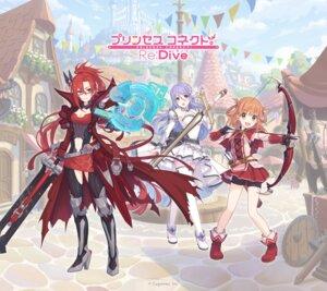 Rating: Safe Score: 17 Tags: armor bike_shorts cleavage heels hoshino_shizuru inosaki_rino labyrista megane princess_connect princess_connect!_re:dive sword tagme thighhighs weapon User: saemonnokami