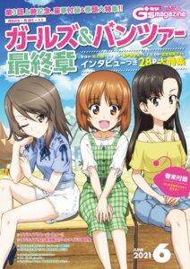 Rating: Safe Score: 7 Tags: dress girls_und_panzer heels mika_(girls_und_panzer) nishi_kinuyo nishizumi_miho tagme User: saemonnokami