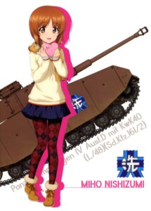 Rating: Safe Score: 16 Tags: girls_und_panzer nishizumi_miho pantyhose sweater tagme valentine User: drop