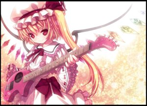 Rating: Safe Score: 26 Tags: flandre_scarlet guitar kiira touhou User: yumichi-sama