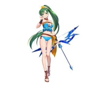 Rating: Safe Score: 16 Tags: bikini cleavage fire_emblem fire_emblem:_rekka_no_ken fire_emblem_heroes lyndis_(fire_emblem) nintendo swimsuits teffish weapon User: fly24