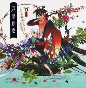 Rating: Safe Score: 11 Tags: katanagatari take togame yasuri_shichika User: DrizztVII