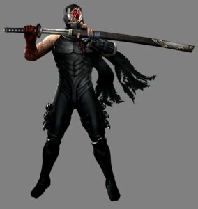 Rating: Safe Score: 9 Tags: blood bodysuit cg male ninja ninja_gaiden ninja_gaiden_3 ryu_hayabusa sword weapon User: Yokaiou