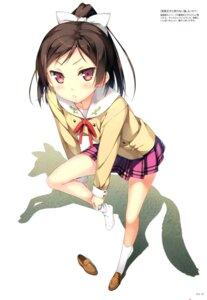 Rating: Safe Score: 53 Tags: hentai_ouji_to_warawanai_neko kantoku maimaki_mai seifuku User: Twinsenzw
