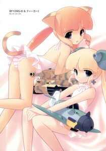Rating: Questionable Score: 31 Tags: animal_ears dress jiji loli nekomimi pantsu shimapan tail User: crim