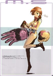 Rating: Safe Score: 9 Tags: bodysuit cleavage gundam haritama_hiroki studio_n.ball User: Radioactive