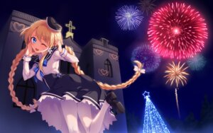 Rating: Safe Score: 20 Tags: christmas magi_in_wanchin_basilica pantyhose seifuku wallpaper xiao_ma yaguo User: charunetra
