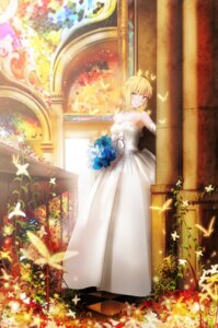 Rating: Safe Score: 46 Tags: dress fate/stay_night magicians saber wedding_dress User: Aneroph