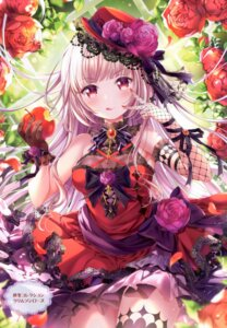 Rating: Safe Score: 33 Tags: dress emori_miku_project esaka_marine fishnets gothic_lolita lolita_fashion momo_moyon thighhighs User: kiyoe