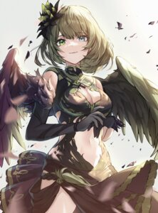 Rating: Safe Score: 16 Tags: cleavage heterochromia shino_sto skirt_lift takagaki_kaede the_idolm@ster the_idolm@ster_cinderella_girls wings User: Mr_GT