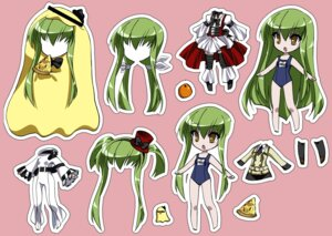 Rating: Safe Score: 8 Tags: c.c. chibi code_geass maetaku school_swimsuit swimsuits User: Radioactive