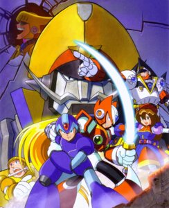 Rating: Safe Score: 9 Tags: gun mecha rockman sword weapon User: AsukaErika