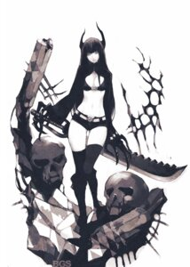 Rating: Safe Score: 54 Tags: bikini_top black_gold_saw black_rock_shooter fishine vocaloid User: Radioactive