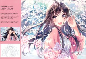 Rating: Safe Score: 20 Tags: canvas_(morikura_en) crease dress morikura_en sketch User: kiyoe