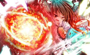 Rating: Safe Score: 12 Tags: nanamomo_rio reiuji_utsuho touhou User: Radioactive