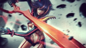 Rating: Questionable Score: 25 Tags: eddy_shinjuku kill_la_kill matoi_ryuuko no_bra sword wallpaper User: RyuZU
