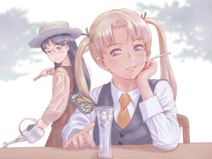 Rating: Safe Score: 19 Tags: claes gunslinger_girl megane triela yoshikawa_kazunori User: animeprincess