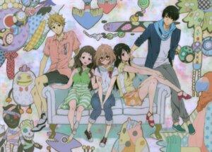 Rating: Safe Score: 35 Tags: dress heels kanbara_akihito kuriyama_mirai kyoukai_no_kanata megane nase_hiroomi nase_mitsuki shindou_ai User: Hercles
