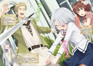 Rating: Safe Score: 13 Tags: akita_hika seifuku sweater sword tagme User: kiyoe