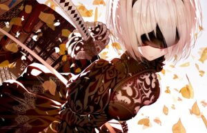 Rating: Safe Score: 46 Tags: atha cleavage dress nier_automata sword yorha_no.2_type_b User: Zenex