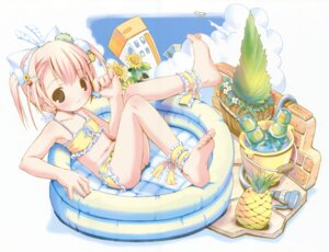 Rating: Safe Score: 13 Tags: animal_ears bikini feet fixed nekomimi pop swimsuits User: petopeto