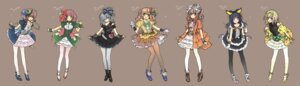 Rating: Safe Score: 24 Tags: dress genderswap gothic_lolita heels jojo's_bizarre_adventure lolita_fashion pantyhose toujou_sakana User: fireattack