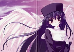 Rating: Safe Score: 18 Tags: amamiya_yuuko crease ef_~a_fairytale_of_the_two~ fixme nanao_naru wings User: admin2