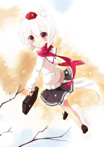 Rating: Safe Score: 22 Tags: animal_ears inubashiri_momiji kamisaki_sora seifuku tail touhou User: blooregardo