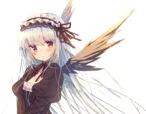 Rating: Safe Score: 69 Tags: dress gothic_lolita lolita_fashion rozen_maiden suigintou usamata wings User: Mr_GT